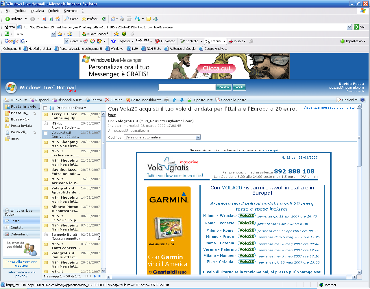 Windows Live Mail completo