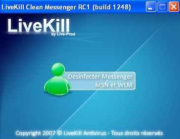 livekill clean messenger gratis
