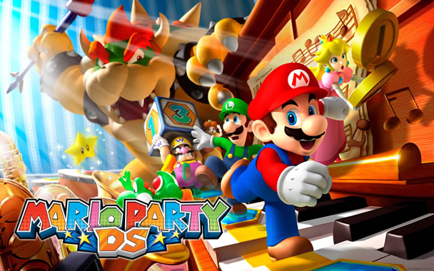 mario party ds 2560x1600