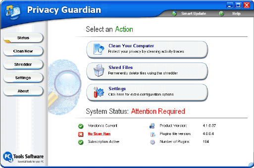 free privacy guardian license