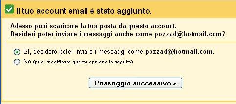 integrazione hotmail gmail 4