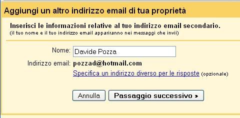 integrazione hotmail gmail 5
