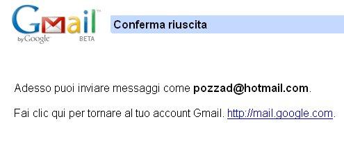 integrazione hotmail gmail 8