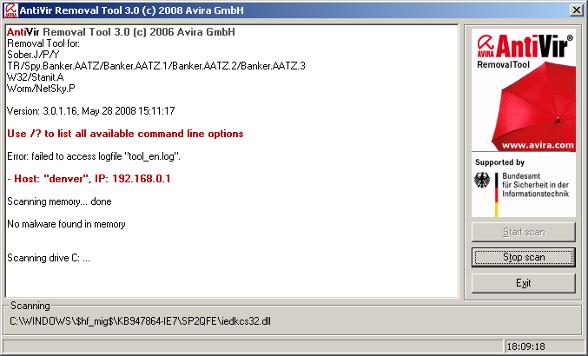 antivirus su chiavetta usb
