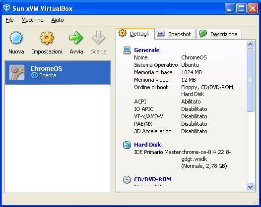 vbox chrome 9