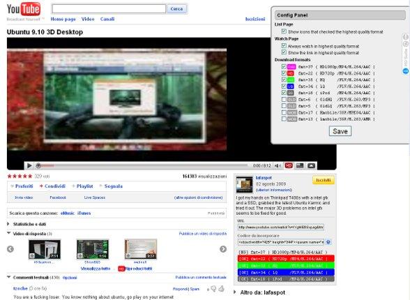 youtube hd suite come scaricare video da youtube in alta. Black Bedroom Furniture Sets. Home Design Ideas