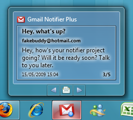 windows7 gmail