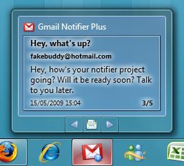windows7 gmail