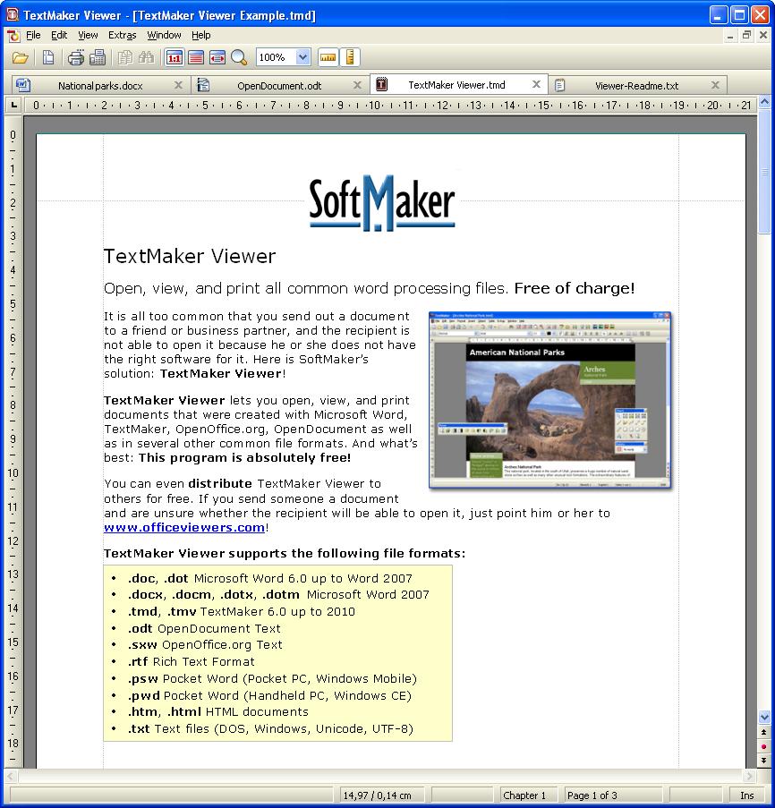 textmaker viewer 2010