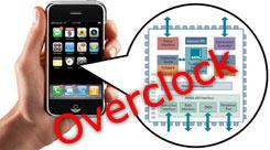 iphone overclock cpu