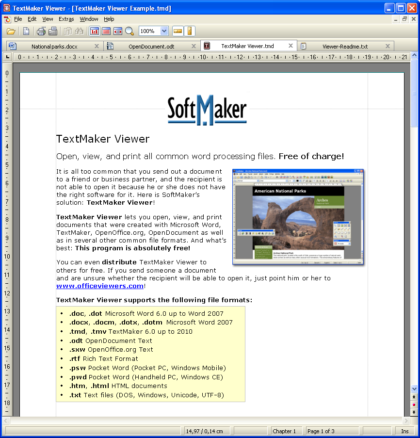 textmaker viewer 2010