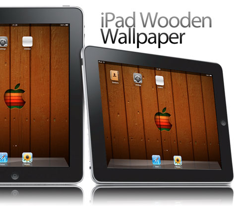 IPad  Wooden Wallpaper
